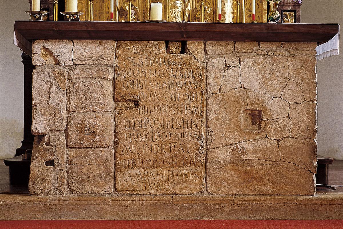 Altar in der Pfarrkirche Molzbichl
