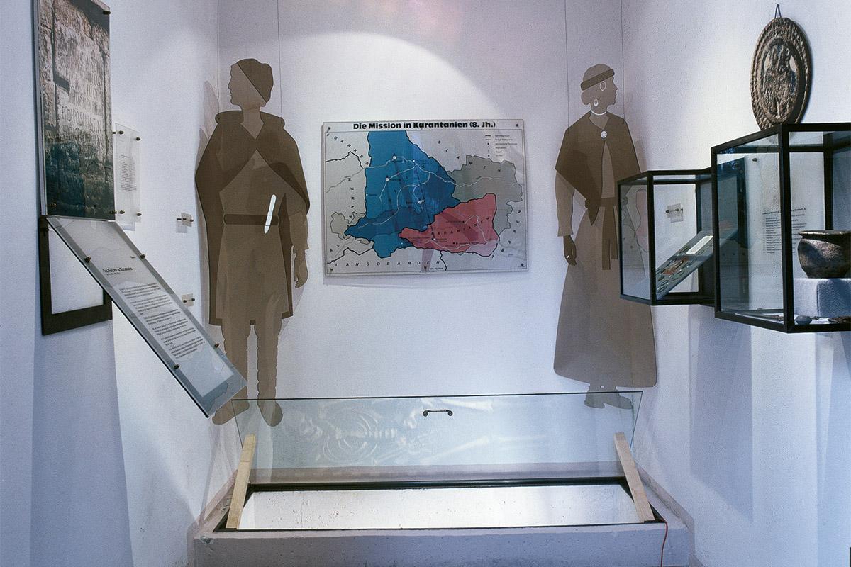 Museum Carantana Innenansicht