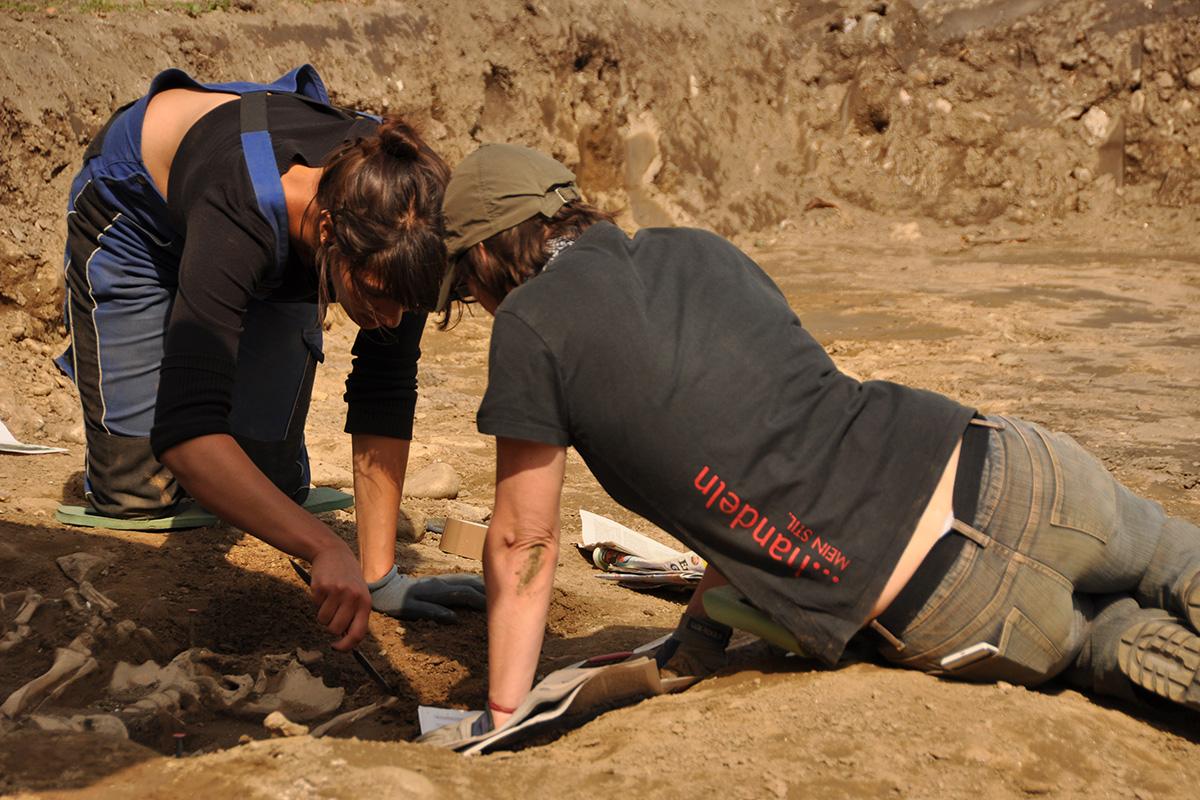 Ausgrabungen in Molzbichl